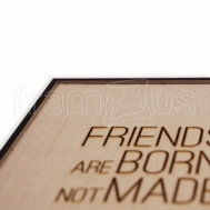 Friends are Born